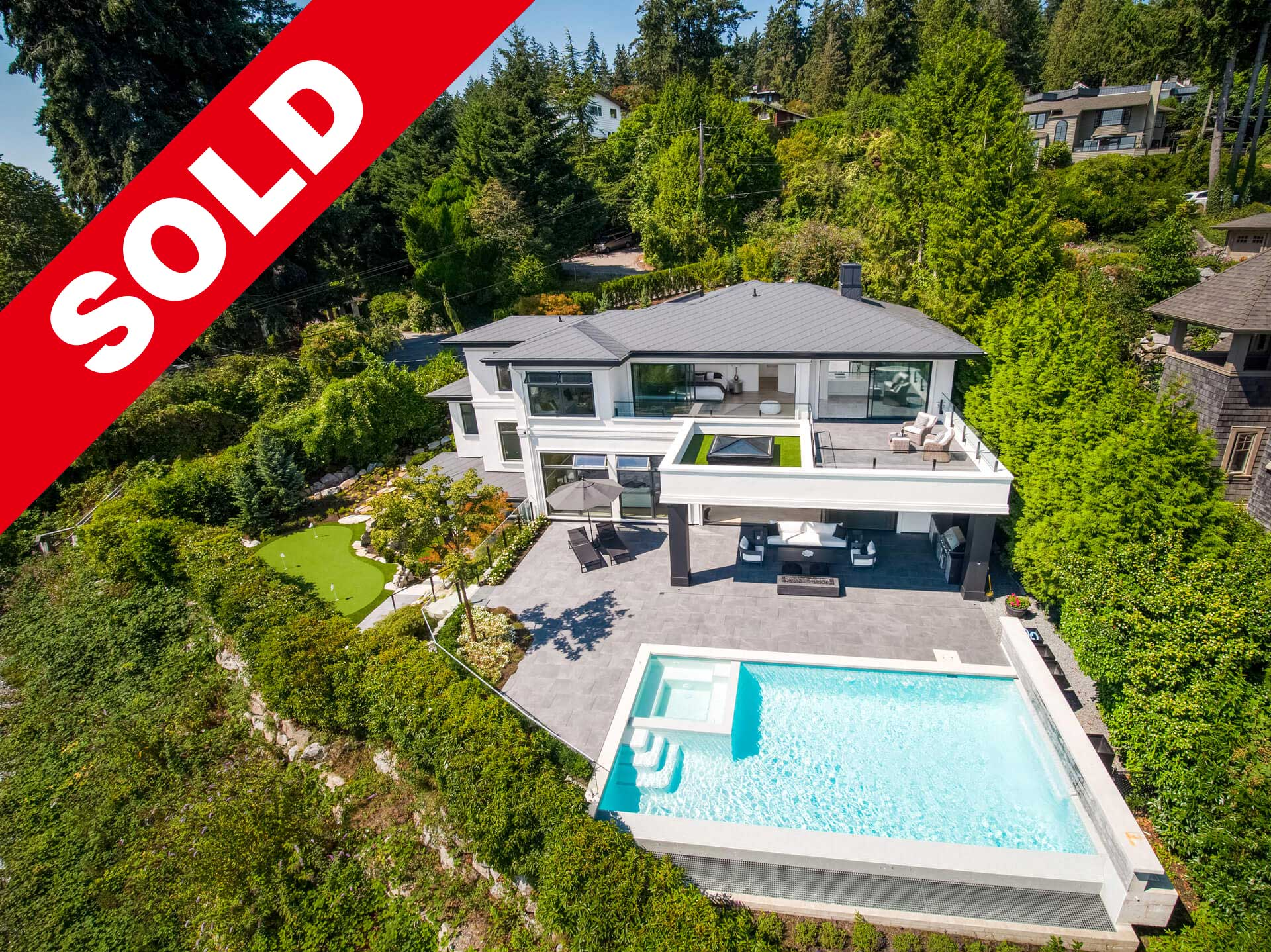 Recently sold home in West Vancouver